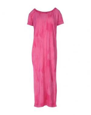Платье длиной 3/4 BRAND UNIQUE. Цвет: фуксия
