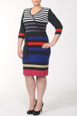 Платье Stillon. Цвет: в полоску мульти