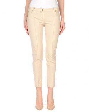 Повседневные брюки BETTY BLUE. Цвет: бежевый