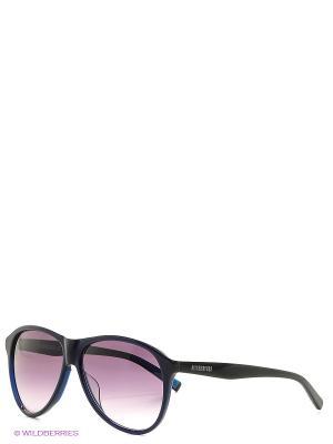 Солнцезащитные очки BK 667 02 Bikkembergs. Цвет: черный