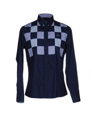 Pубашка HARMONT&BLAINE. Цвет: темно-синий