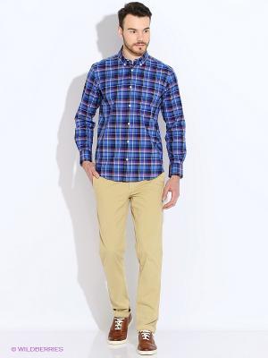 Рубашка Eden Park. Цвет: синий, зеленый, бордовый, желтый, темно-синий