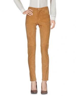 Повседневные брюки HEIMSTONE. Цвет: верблюжий