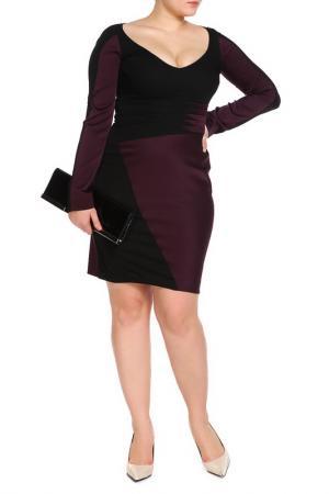 Платье Zac Posen. Цвет: черный