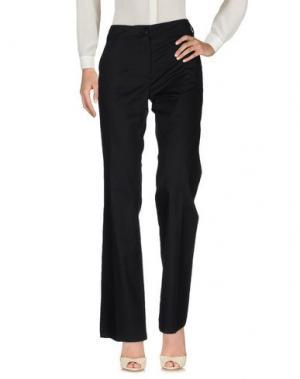 Повседневные брюки MAURO GRIFONI. Цвет: черный