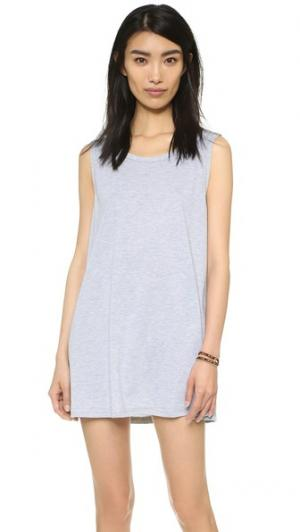 Мини-платье Vale. Цвет: серый