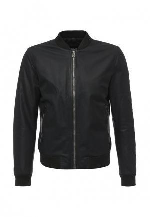 Куртка кожаная Joop!. Цвет: черный