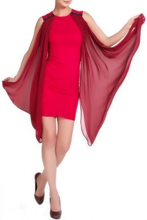 Платье Albino. Цвет: бордо