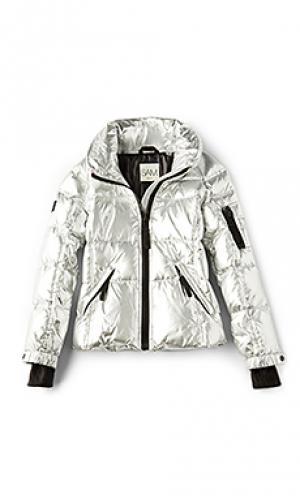 Куртка freestyle SAM.. Цвет: металлический серебряный