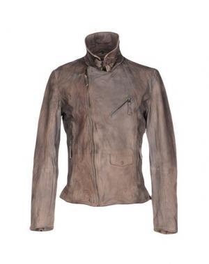 Куртка FREAKY NATION. Цвет: голубиный серый