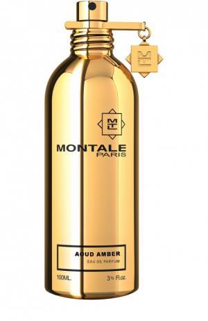 Парфюмерная вода Aoud Amber Montale. Цвет: бесцветный