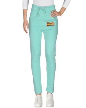 Повседневные брюки LA KASA DEI KOLORI. Цвет: бирюзовый