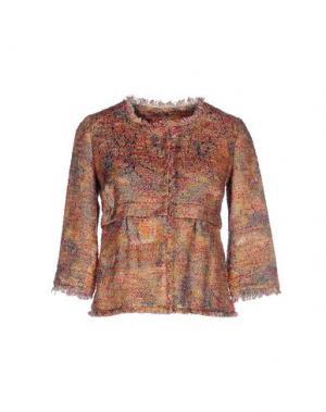 Пиджак MANILA GRACE DENIM. Цвет: ржаво-коричневый