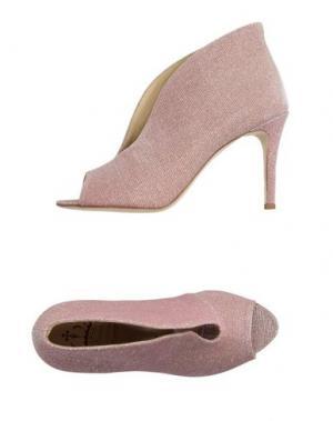 Ботинки L'ARIANNA. Цвет: розовый