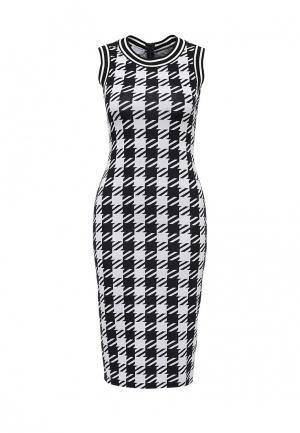 Платье Escada Sport. Цвет: черно-белый
