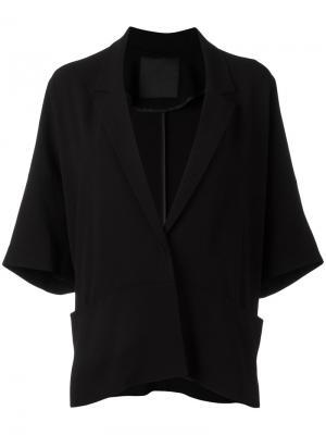 Куртка-кимоно Demoo Parkchoonmoo. Цвет: чёрный