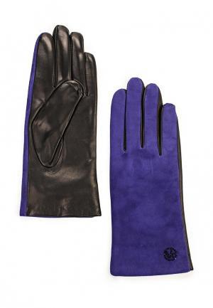 Перчатки Vitacci. Цвет: фиолетовый