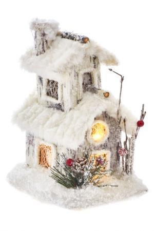 Композиция с подсветкой DUE ESSE CHRISTMAS. Цвет: белый