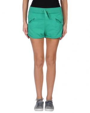 Повседневные шорты JCOLOR. Цвет: зеленый