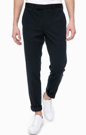Классические брюки с двумя карманами Jack & Jones. Цвет: синий