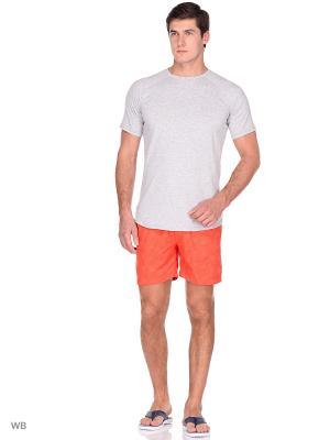 Бордшорты Lacoste. Цвет: красный, оранжевый