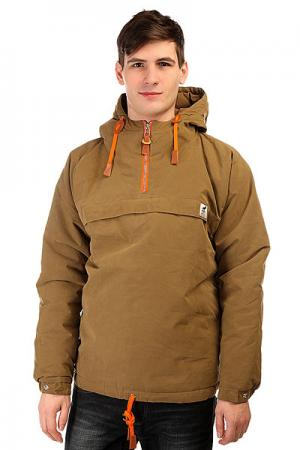Анорак  Sailor Anorak Camel-orange Fat Moose. Цвет: зеленый
