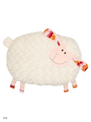 Мягкая игрушка Плюшка Овечка 10.188.1-2  цвет бежевый Malvina. Цвет: бежевый