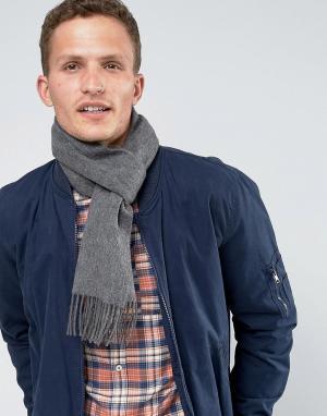 Glen Lossie Кашемировый шарф. Цвет: серый