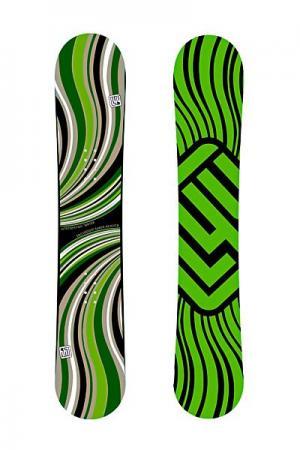 Сноуборд  Waver 156 Limited4You. Цвет: зеленый