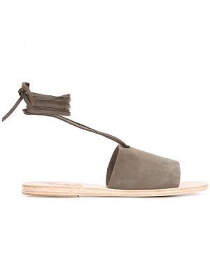 Сандалии Christina Ancient Greek Sandals. Цвет: серый