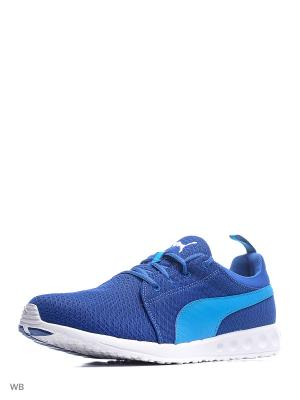 Кроссовки Carson Mesh Puma. Цвет: синий, голубой
