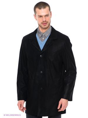 Куртка STEFANO FERRI. Цвет: черный