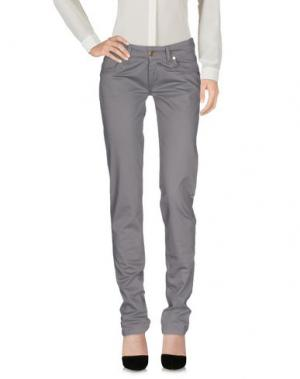 Повседневные брюки PHARD. Цвет: серый