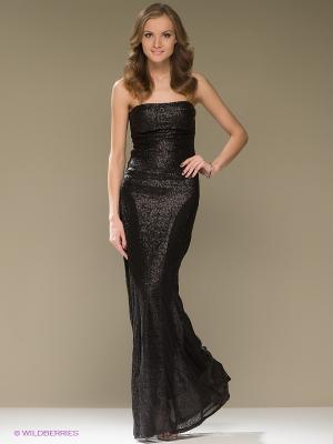 Платье Goddess London. Цвет: черный