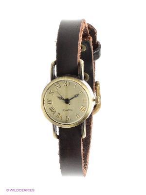Часы Kawaii Factory. Цвет: темно-коричневый