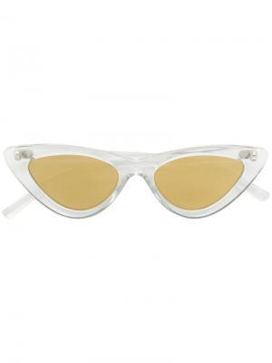 Солнцезащитные очки  Last Lolita Le Specs. Цвет: телесный