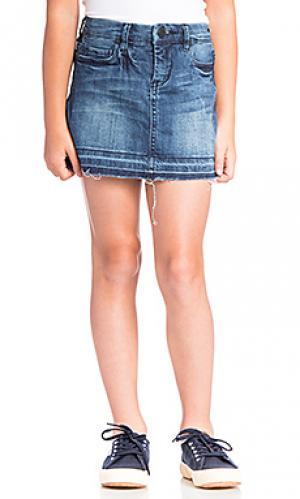 Джинсовая юбка BLANKNYC. Цвет: синий