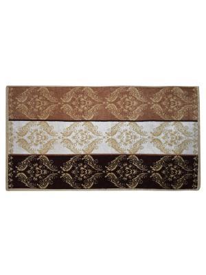 Полотенце махровое, дизайн Килим, 50х90 Dorothy's Нome. Цвет: бежевый, коричневый