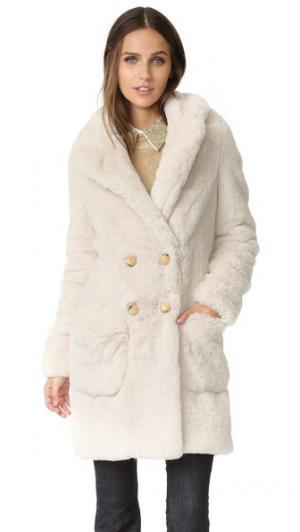 Длинное пальто Will Otto d'ame. Цвет: белый