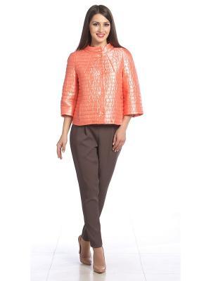 Куртка Lanicka. Цвет: коралловый