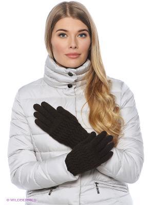 Перчатки FOMAS. Цвет: темно-коричневый