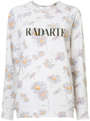 Толстовка Radarte Rodarte. Цвет: розовый и фиолетовый