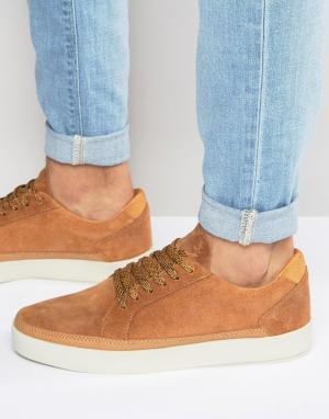 Boxfresh Замшевые кроссовки Civik. Цвет: рыжий