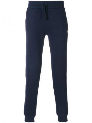 Спортивные брюки со сборкой Colmar. Цвет: синий