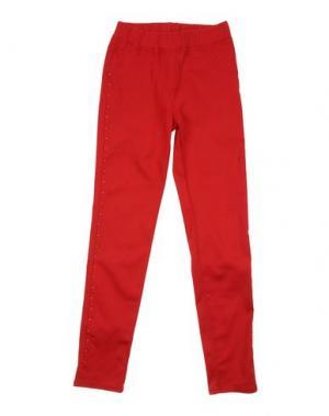 Повседневные брюки MONNALISA. Цвет: красный