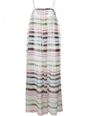Платье Carmel Marysia. Цвет: многоцветный