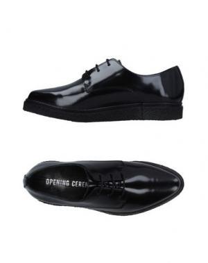 Обувь на шнурках OPENING CEREMONY. Цвет: черный