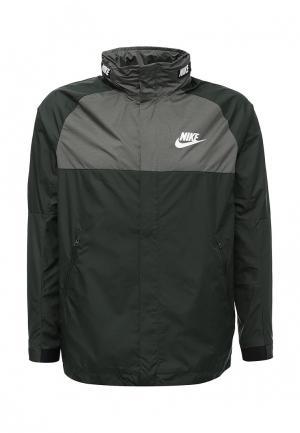 Ветровка Nike. Цвет: хаки