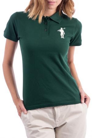Рубашка-поло POLO CLUB С.H.A.. Цвет: зеленый