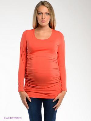 Кофточка  2 в 1 (для беременных и для кормления) Nuova Vita. Цвет: коралловый